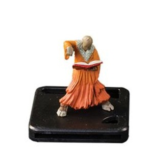 Arkham Horror: Premium Monster Figure - Black Man, Mask of Nyarlathotep