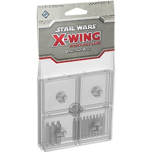 X-Wing: Clear Bases and Pegs