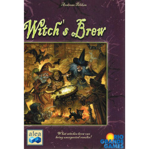 Witch's Brew Board Game