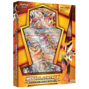 Pokemon Mega Blaziken Ex Premium Collection