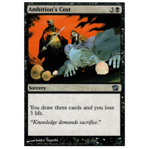 Ambition's Cost