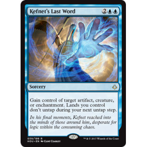 Kefnet's Last Word