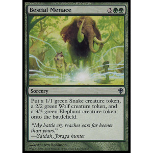 Bestial Menace