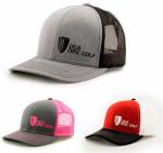 Mesh SnapBack Baseball Cap (Mesh Snapback Baseball Cap, DGA Name and Basket Logo)