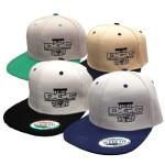 Flatbill Baseball Cap (Snapback Adjustable Baseball Cap, DGC Basket Logo)