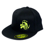 Flex Fit Baseball Cap (Flatbill Flex Fit Baseball Cap, Buzzz Logo (Front left) and Discraft (Back))