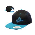 Snapback Adjustable Baseball Cap (Flatbill Snapback Adjustable Baseball Cap, Crank Logo)