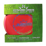 Dynamic Discs Prime Disc Golf Set (Prime Disc Golf Set, Standard)