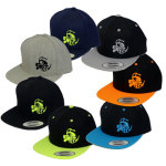 Discraft Buzzz Logo Snapback Adjustable Baseball Cap (Flatbill Snapback Adjustable Baseball Cap, Buzzz Logo (Front left) and Discraft (Back))