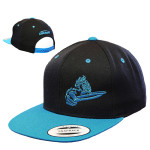Discraft Crank Logo Snapback Adjustable Baseball Cap (Flatbill Snapback Adjustable Baseball Cap, Crank Logo (Front left) and Discraft (Back))