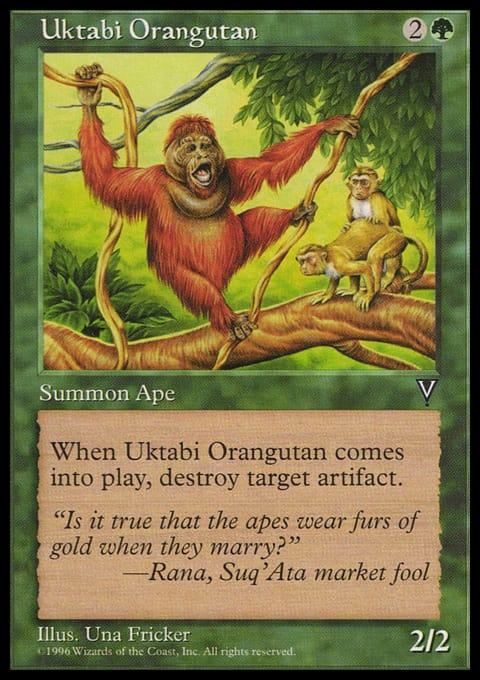 Uktabi Orangutan