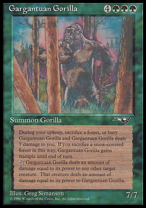 Gargantuan Gorilla