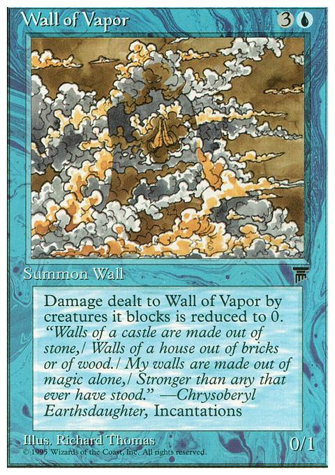 Wall of Vapor