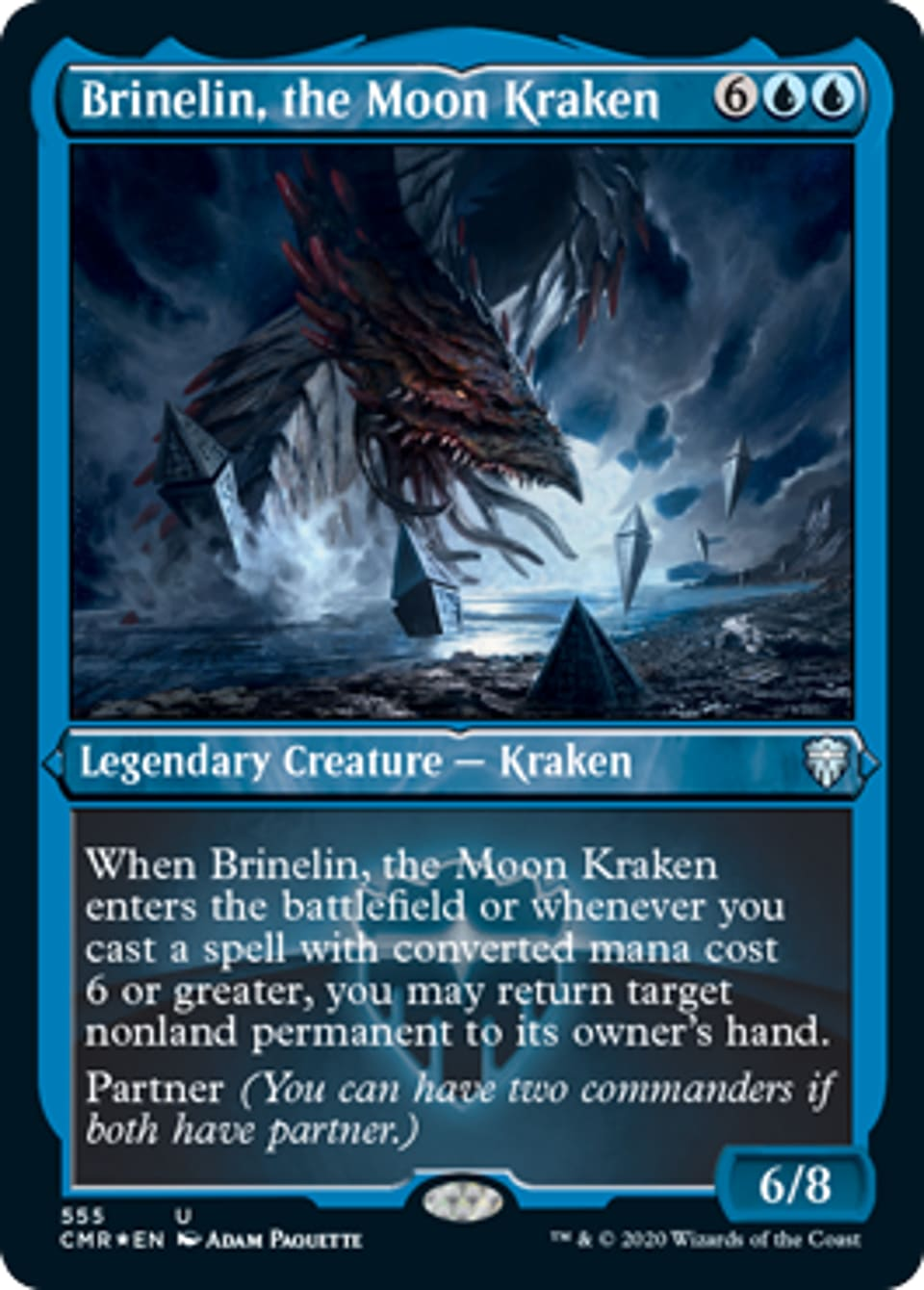 Brinelin, the Moon Kraken