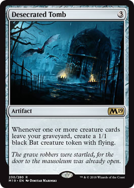 Desecrated Tomb