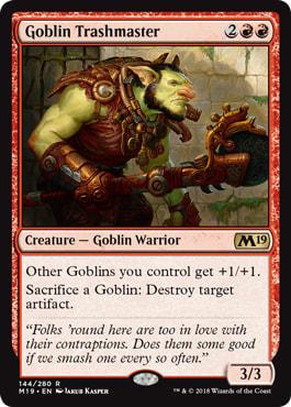 Goblin Trashmaster