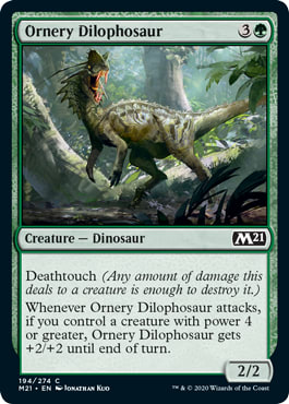 Ornery Dilophosaur