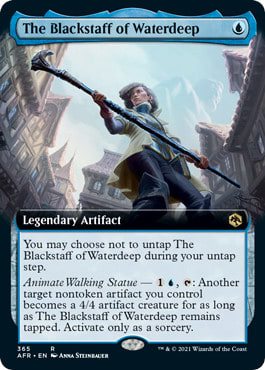 The Blackstaff of Waterdeep