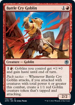 Battle Cry Goblin