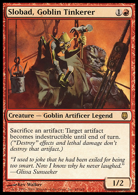 Slobad, Goblin Tinkerer