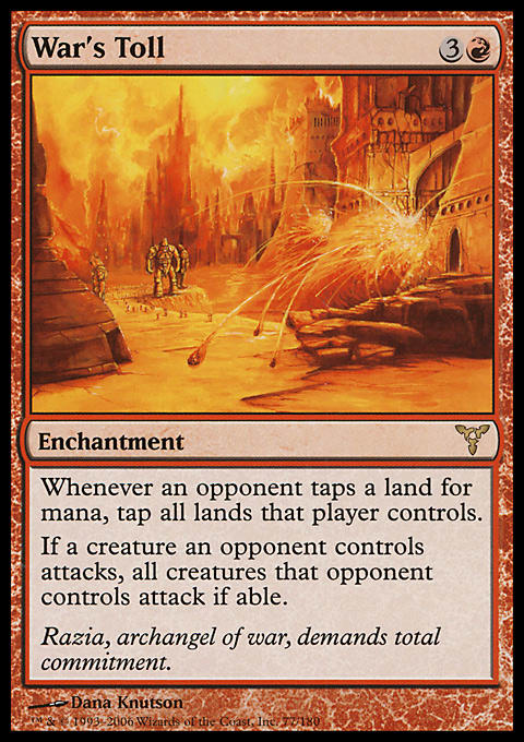 Top Ten Janky Red Rare Enchantments   Article by Abe Sargent
