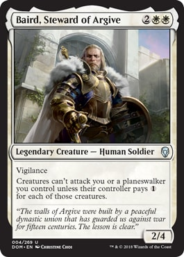 Baird, Steward of Argive