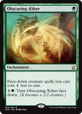 Obscuring Aether