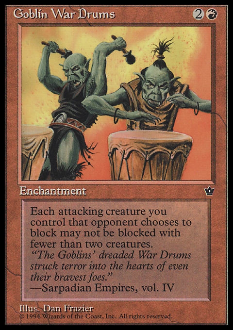 Goblin War Drums