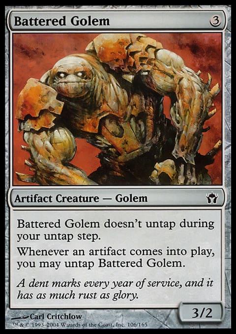 Battered Golem