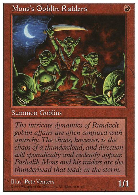Mons's Goblin Raiders