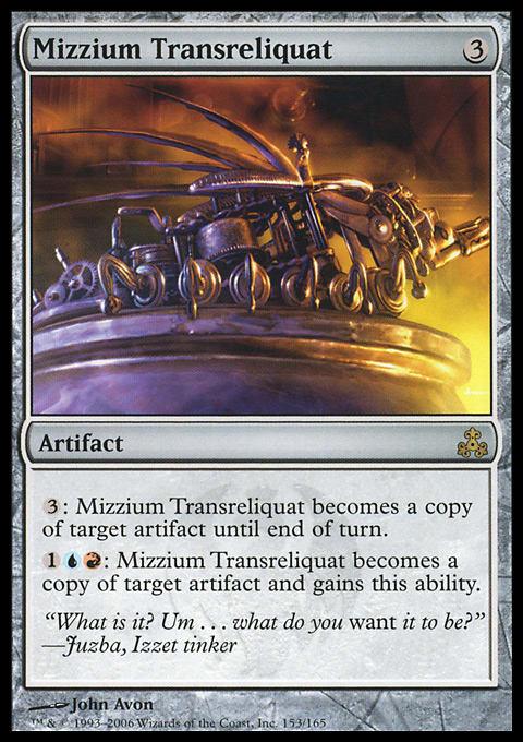 Mizzium Transreliquat