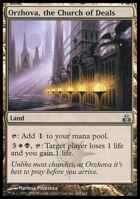 Orzhova, the Church of Deals