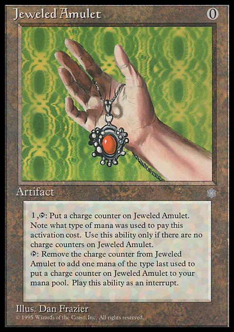 Jeweled Amulet