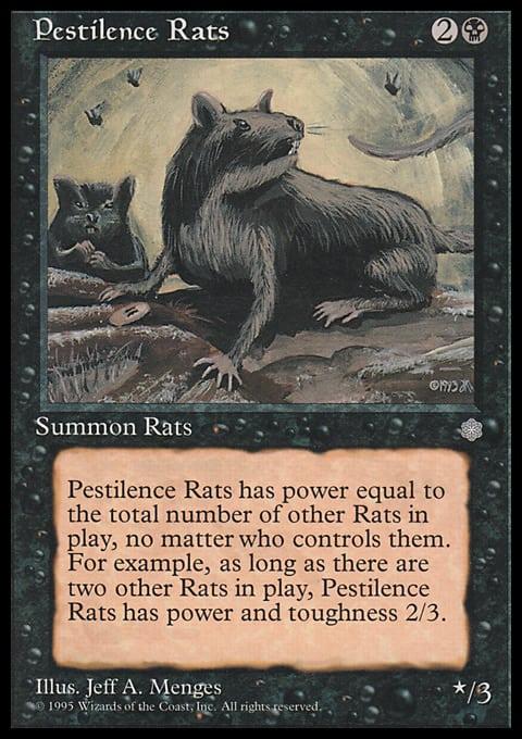 Pestilence Rats