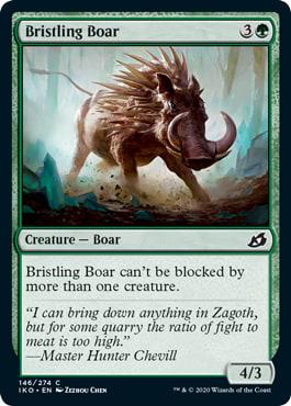 Bristling Boar