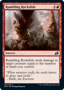 Rumbling Rockslide