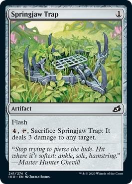 Springjaw Trap