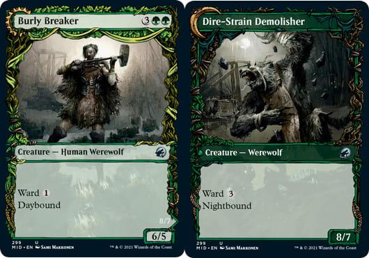 Burly Breaker // Dire-Strain Demolisher