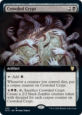 Crowded Crypt