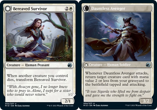 Bereaved Survivor // Dauntless Avenger