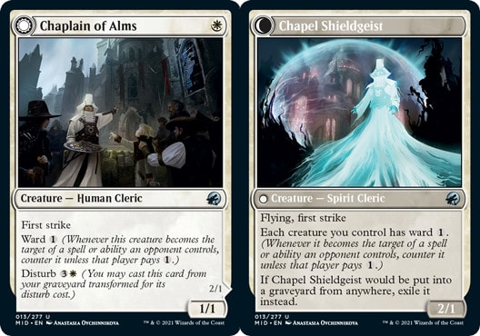 Chaplain of Alms // Chapel Shieldgeist