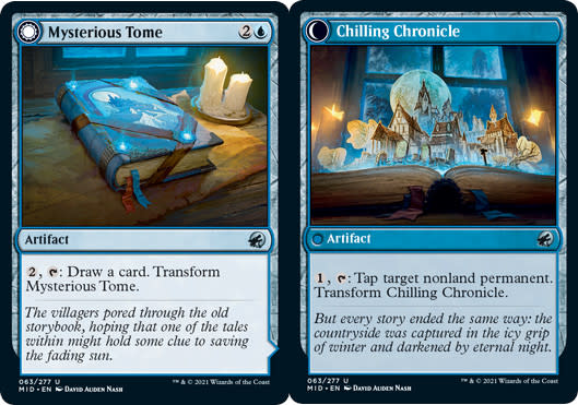 Mysterious Tome // Chilling Chronicle