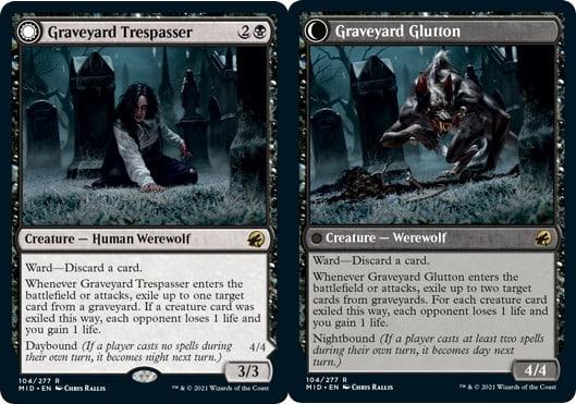 Graveyard Trespasser // Graveyard Glutton