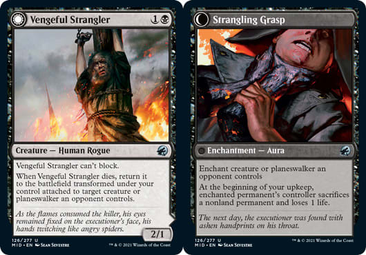 Vengeful Strangler // Strangling Grasp