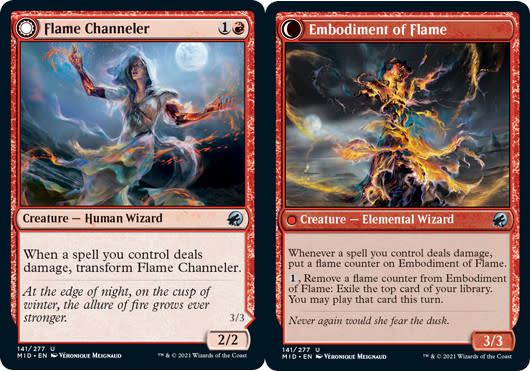 Flame Channeler // Embodiment of Flame