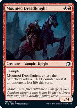Mounted Dreadknight