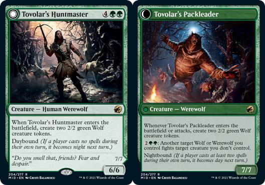 Tovolar's Huntmaster // Tovolar's Packleader