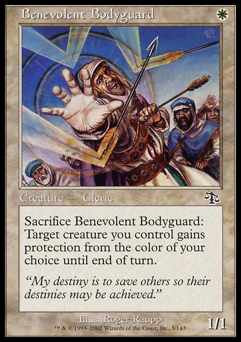 Benevolent Bodyguard