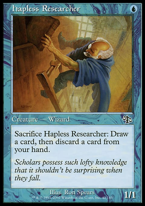 Hapless Researcher