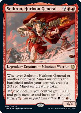 Sethron, Hurloon General
